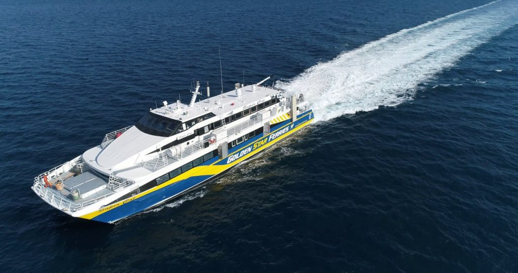 The Golden Star Ferries Super Cat