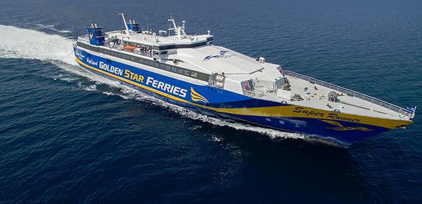 Αποτέλεσμα εικόνας για golden star ferries superrunner